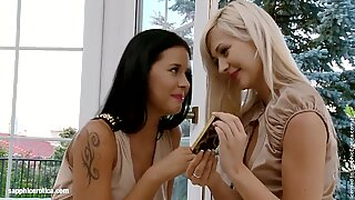 Tender Tonguers by Sapphic Erotica - lesbian love porn with
