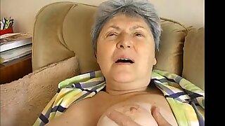 OmaPasS Extra Old Hairy Granny Pussy Toying