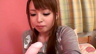 Japanese wanker Ichika is busy with pleasing her wet fancy