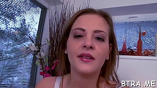 Experienced lady with big wobblers is very charismatic and nice