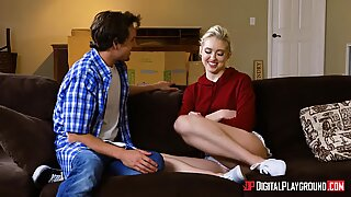 Cute slut Tyler Nixon has her pussy stretched out to the maxReport this video