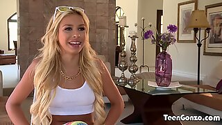 Blonde Teen Carmen Caliento Fucked By Fat Dick - Carmen Blonde