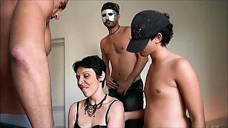 Nina gangbanged while her husband is watching