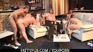 Welcome to big tits bbw gangbang party!