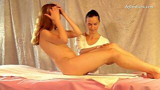 Fedorkino Gore intense erotic virgin massage