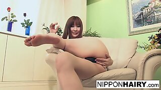 Busty Japanese cutie has help discovering her g spot