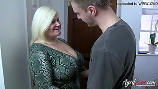 AgedLovE Busty Mature Lacey Starr Hardcore Lover
