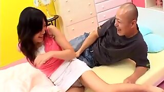 Yui Komine amazes with her very tight pussy