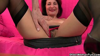 Granny's libido gets fired up by the dirty photographer