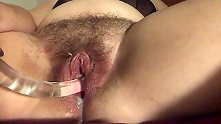 Hairy Creamy Ovulating Squirting Pussy