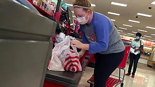 MILF in motion at Target