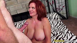 Golden Slut - Older Lady Blowjob Comp 16