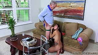 Chinese old woman Our original idea was to film one flick to flash to our cronys at the