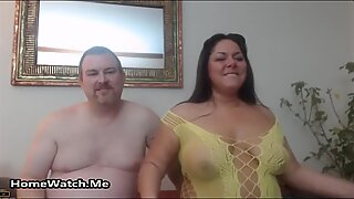 Fat And Horny Couple Have Wild Sex On Cam