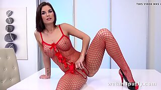 bang-out Toy Play For warm dark-haired Jenifer Jane