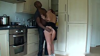 Black man fuck amazing wife milf