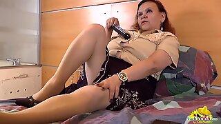 LatinChili Mature Granny Latina Solo Compilation