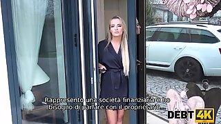 DEBT4k. Magnificent Victoria Pure has wonderful sex withdebt