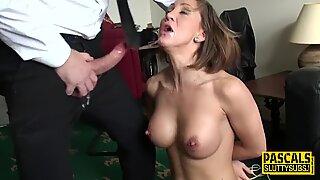 PASCALSSUBSLUTS - Brutal Audition For Stripper MILF