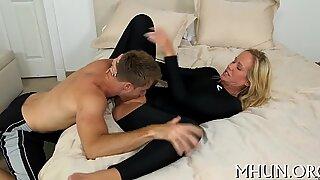 Long-awaited sex for a hot MILF