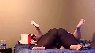 BBW Wife Taking Creampie From Secret Lover