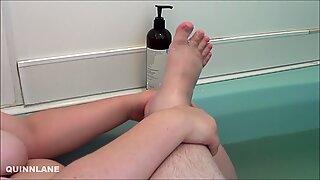 Feet, Pumice, and a Bath