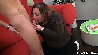 He tricks fat girl into sex