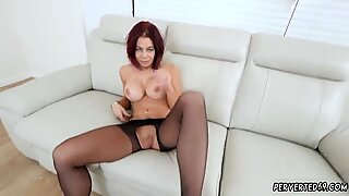 Teen and open mouth gag blowjob Ryder Skye in Stepmother Sex Sessions