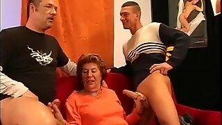 my grandmas first gangbang