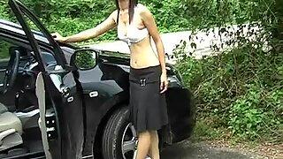 Asian amatuer girl posing naked