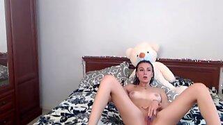 Teddy Bear Hugging Teen Most Pervert Teen Cam Girl Enjoying Part 1 Hd