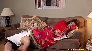 50 year old Indian Bhabhi fucked very hard in her ass by the servant