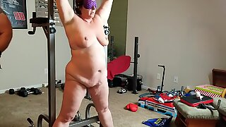 promiscuous cuckold Brenda likes being tied up.