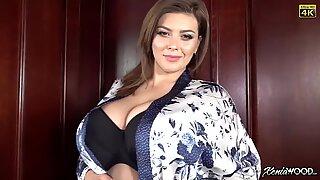 Big tits beauty mature