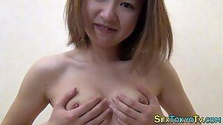 Horny asians masturbating