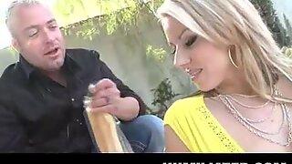 Blonde MILF gets humiliated!