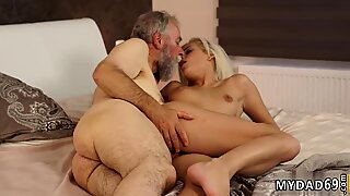 Old granny boobs and tattoo daddy xxx Surprise your gf and she will bang with your dad