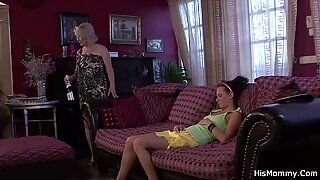 Mature and teen lezzy romp uncovered!
